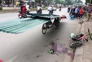 Vụ bé trai tử vong do tôn cứa cổ: Khởi tố người lái xích lô