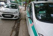 Hàng loạt xe taxi bị vặt gương ở khu đô thị gần công an phường