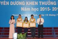 TP HCM: Tuyên dương 360 học sinh tiêu biểu