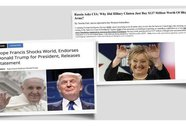 """Nga """"phát tán tin giả"""" tiếp sức ông Trump thắng cử?"""