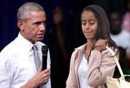 """Tổng thống Obama nổi giận vụ con gái """"hút cần sa"""""""