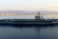 3 cảnh sát Pháp lạc trên tàu sân bay USS Eisenhower
