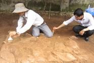 Phát hiện một om chôn cất tại khu vực thăm dò tìm mộ vua Quang Trung