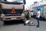 Con dâu bị thương, mẹ chồng chết thảm dưới bánh xe tải