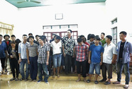 Phá sới bạc liên tỉnh, bắt giữ 34 người, thu 2 khẩu súng