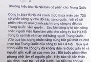 Tung tin bán Habeco cho Trung Quốc, bị phạt 12,5 triệu đồng