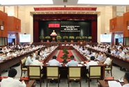 Khai mạc Hội nghị lần thứ 8 Ban Chấp hành Đảng bộ TP HCM khóa X