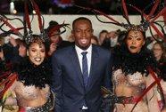 Usain Bolt bên dàn siêu mẫu trong lễ ra mắt phim