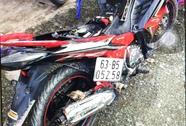 CSGT bắt tên trộm xe máy ở Tiền Giang
