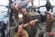 Sĩ quan hải quân Mỹ mất chức vì để Iran bắt lính