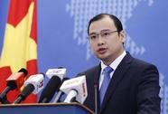 Việt Nam phản đối Đài Loan diễn tập tại Ba Bình