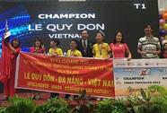 Học sinh Việt Nam vô địch Robothon quốc tế