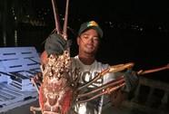 Ngư dân bắt được tôm hùm khổng lồ