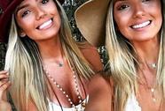 Người đẹp song sinh khiến Neymar mất mặt
