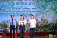 Tuyên dương 168 công nhân Lào, Campuchia tiêu biểu