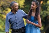 Ông Obama không dám phát biểu khi con tốt nghiệp