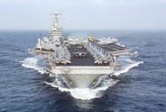 """Cuộc """"vượt cạn"""" lạ lùng trên tàu sân bay USS Dwight D. Eisenhower"""