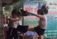 Nữ sinh bị nhóm côn đồ hành hung