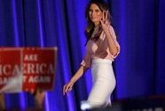Vợ hiện nay đạo văn vợ cũ của ông Trump