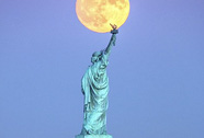 """Hình ảnh lung linh của """"siêu trăng"""" thế kỷ"""