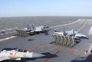 Tàu sân bay Trung Quốc tập trận bắn đạn thật gần Triều Tiên