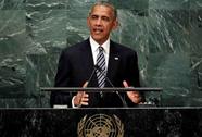 Tổng thống Obama phát biểu lần cuối trước Liên Hiệp Quốc