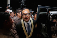 Campuchia chính thức cấm ông Sam Rainsy về nước