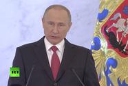 """Tổng thống Putin đọc thông điệp liên bang """"khác biệt"""""""