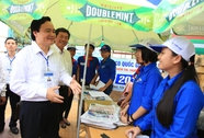 Bộ trưởng thị sát tình hình thi cử tại Ninh Thuận
