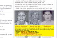 Bắt đối trượng bị truy nã sau 10 giờ công bố trên Facebook