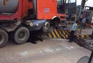 3 ngày, 2 lần trạm thu phí cầu Đồng Nai bị xe tông