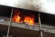 TP HCM: Cháy căn hộ ở tầng 3 chung cư Phùng Hưng