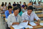 Thi THPT quốc gia: Giáo viên chấm thi tại địa phương mình