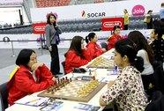 Cờ vua nữ Việt Nam tranh tài ở Giải Vô địch thế giới