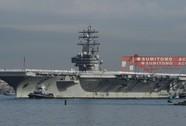 Tàu sân bay Mỹ USS Ronald Reagan áp sát Triều Tiên