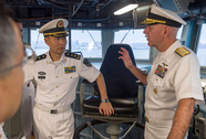 Tàu chiến Mỹ tăng cường hoạt động ở biển Đông