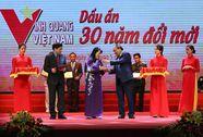 Trao Giải thưởng Vinh quang Việt Nam cho 30 tập thể, cá nhân