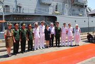 Tàu hộ vệ HMAS Ballarat Úc thăm TP Đà Nẵng