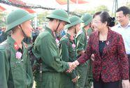 Thanh niên TP HCM hăng hái lên đường nhập ngũ