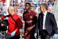 Tân binh đắt giá nhất của Barca nghỉ 4 tháng vì chấn thương