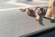 Va chạm với xe máy, Trung úy CSGT bị thương nặng