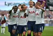 Mất người, Tottenham suýt chia điểm tại West Ham