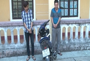 Nam sinh viên nghiện ma túy mượn xe đi cướp giật