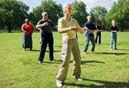 Thái cực quyền giúp người cao tuổi phòng ngừa té ngã