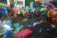Đổ rác ở khu vực có biển cấm