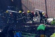 London hoảng sợ trước vụ cháy tòa nhà 24 tầng