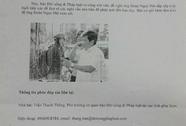 Cách chức nhà báo gửi công văn cho ông Đoàn Ngọc Hải