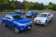 5 xe bán tải bán chạy nhất Việt Nam tháng 6