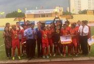 Thể lực sung mãn giúp HAGL đăng quang giải U13 Quốc gia