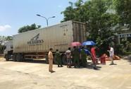 Xe container tông chết người ở Phú Thọ đã bị bắt ở Quảng Nam